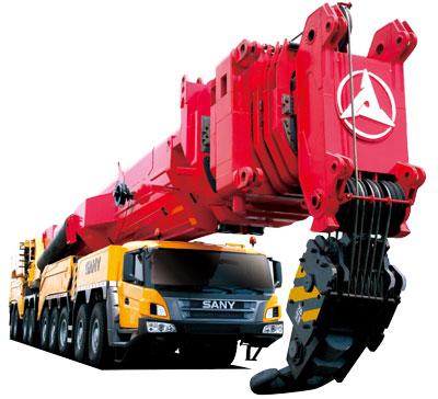三一SAC12000 千吨级全地面起重机