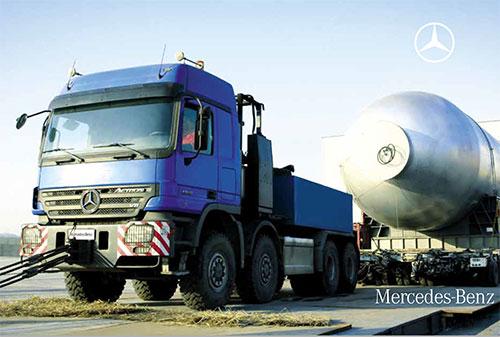 梅赛德斯-奔驰 Actros-sl7 重型牵引车