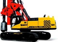 三一SR系列旋挖钻机:SR420
