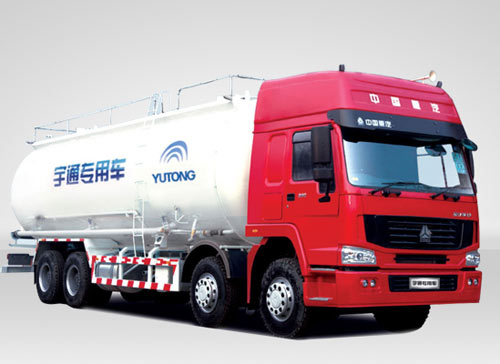 宇通重工YTZ5317GSL42E系列粉粒物料运输车