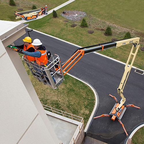 JLG(捷尔杰)发布重磅新品,助力高空