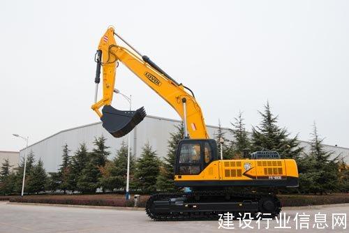 雷沃大型挖掘机FR480E全新问世