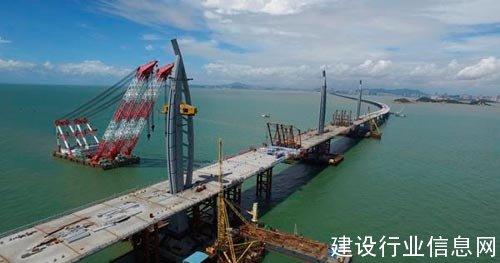 中远关西圆满完成世纪工程—港珠澳大桥涂装保