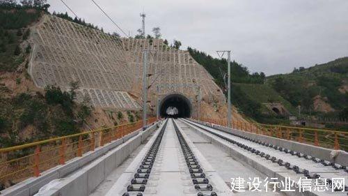 中铁十一局集团二公司承建的宝兰客运专线顺利
