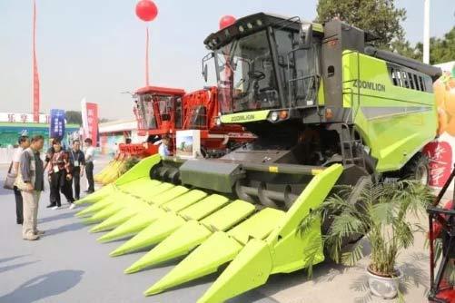中联重科智能农机亮相中国国际农产品交