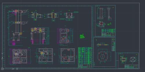 中望CAD2018:自动排版打印,大幅度