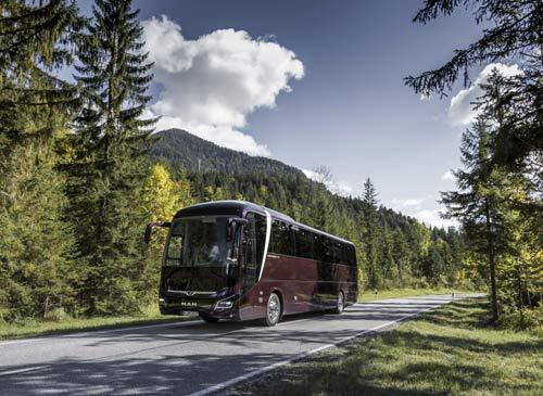 曼恩新型Lion长途客车 赢得三项世界客车