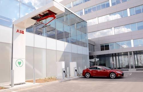 ABB 加速进军全球电动汽车充电设施市场