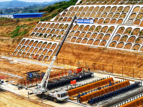 【热点】安康机场迁建工程快速干