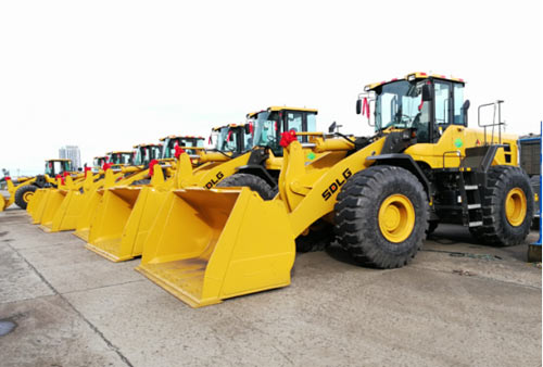广西某港口货运公司批量采购临工L9