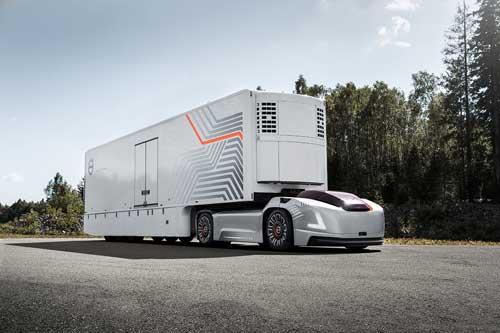 以自主电动车辆为主导 沃尔沃卡车推出新