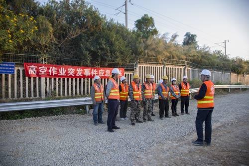中铁十六局五公司新建福厦铁路项目部开