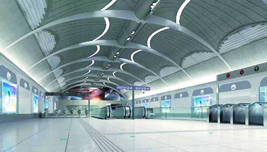 深圳地铁16号线车站设计的美和情怀