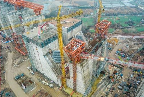 中交二航局世界最大体量锚碇施工