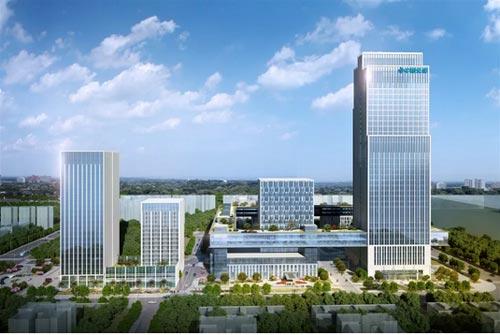 武汉市重大项目建设拉练活动走进华中·中交城