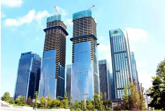 破300米!贵州在建第一高楼长个了!