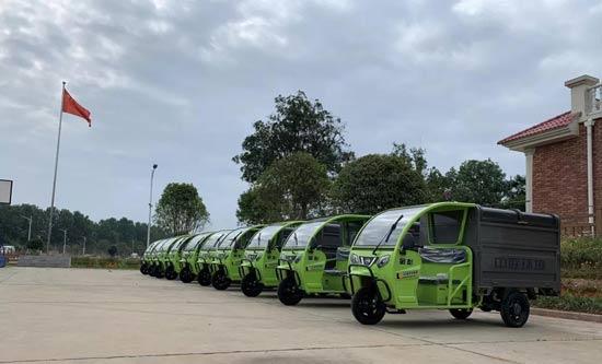为党献礼,中联环境垃圾分类收集车落户春华