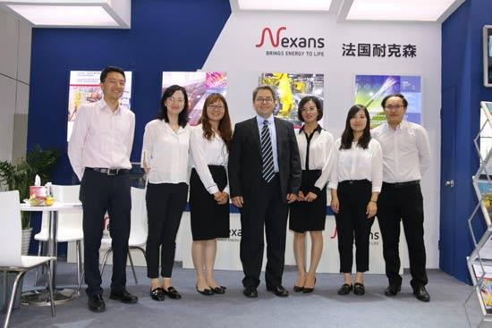 耐克森亮相2019中国国际工业博览