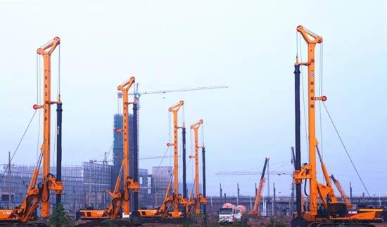 全球最大吨位旋挖钻机发车!助力粤港澳