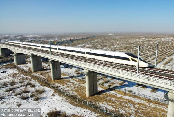 内蒙古首条进京高铁进入按图运行试验阶段