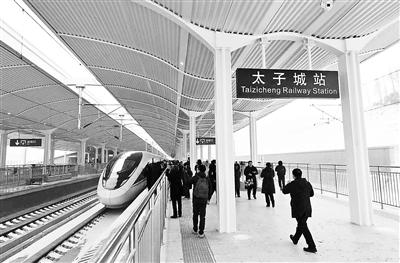 京张高铁开通半月 上