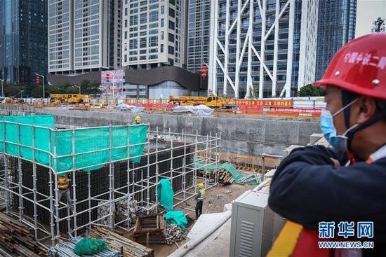 深圳地铁建设有序推进复工
