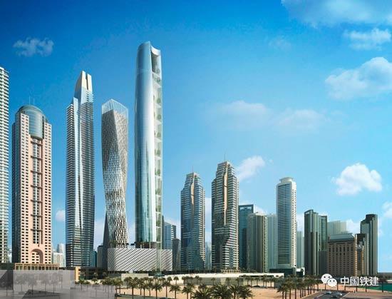 中国铁建承建全球最高酒店类项目全面开建