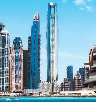 中企承建全球最高酒店类项目开工