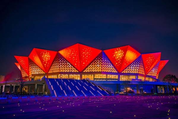 西安奥体中心体育馆项目竣工