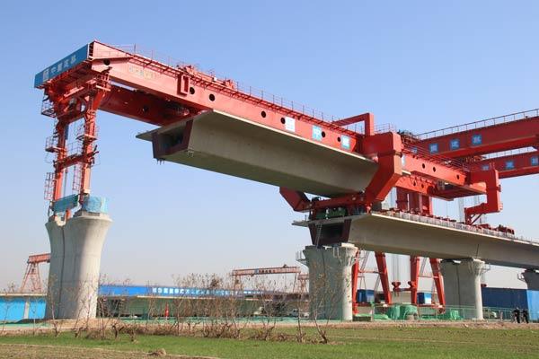 郑济高铁(山东段)完成全线首次