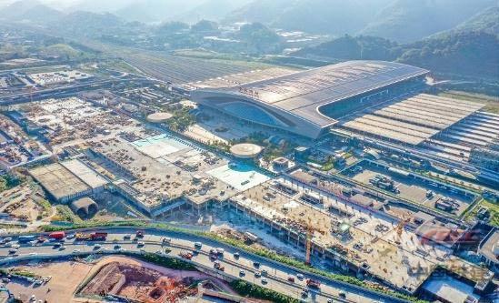 中国西部地区最大的客运综合交通