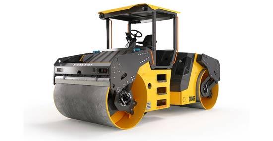 14吨DD145重型双钢轮振动压路机 专为中