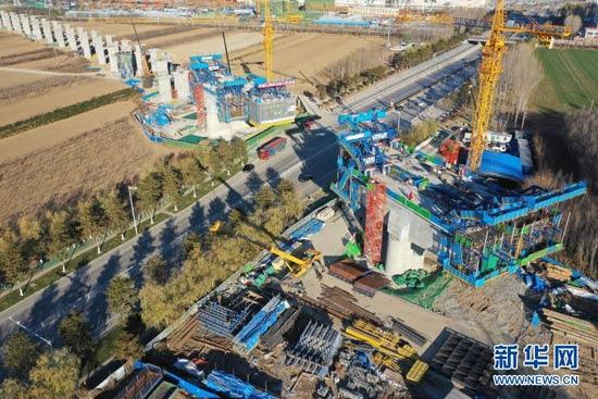 京唐城际铁路建设进展顺利