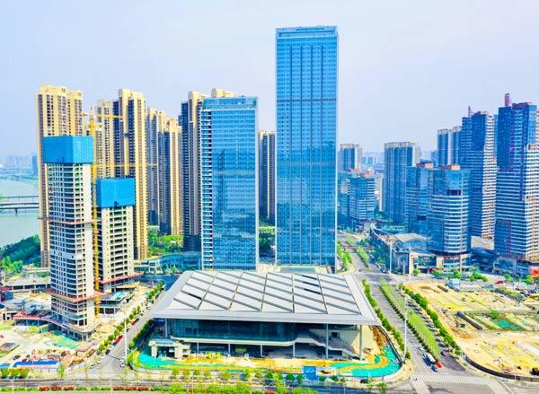 长沙北辰国际会议中心项目主体完工