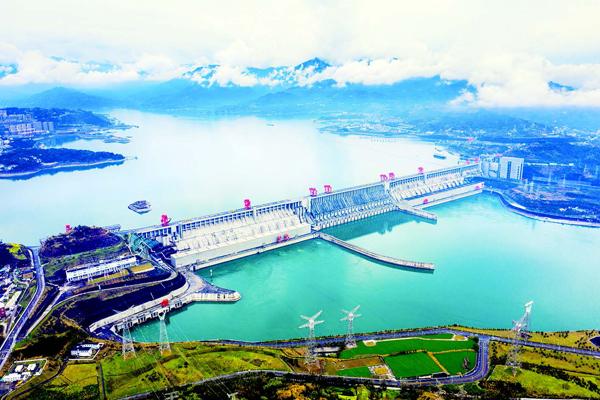 三峡水库为长江中下游补水