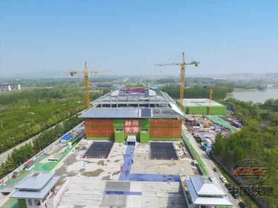 全国首个县级国家一级博物馆新馆主体结构封顶