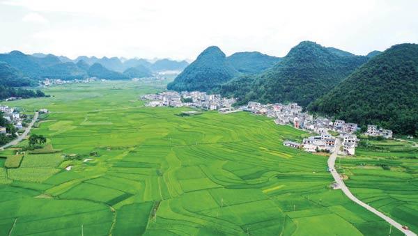 贵州安龙:美丽乡村展新