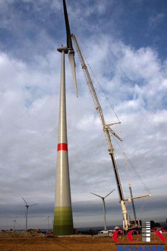 风力发电机组安装项目
