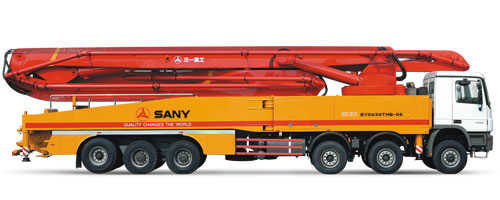 三一重工SY5630THB 66混凝土输送泵车
