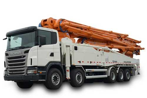 中联63X-6RZ混凝土泵车