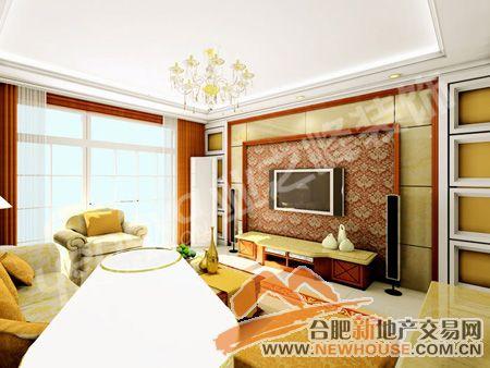 给家居点颜色看看 用色彩展示客厅背景墙