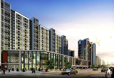 禧福汇国际社区临街独立商铺基本
