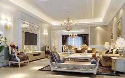 上海别墅装修设计公司(香港欧雅国际)透析欧式别墅装修设计风格