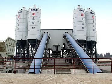 柳工HZS120-混凝土搅拌站