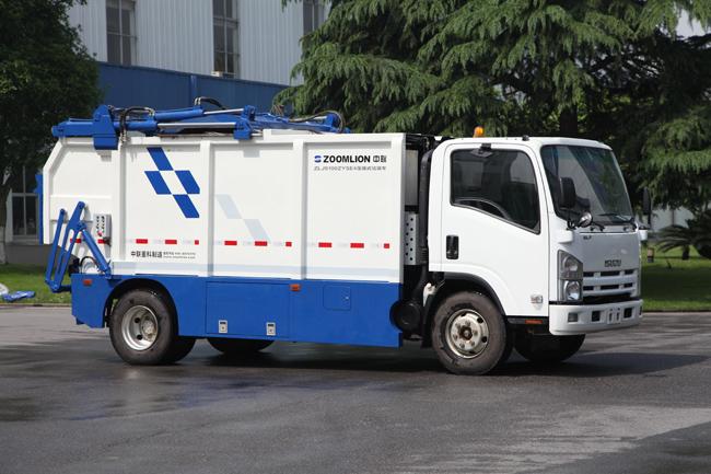 中联重科zlj5100zyse4垃圾压缩车;; zlj5100zyse4_垃圾压缩及转运车