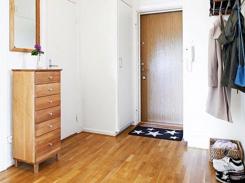 78平方米公寓的原木时尚 家的温馨味道