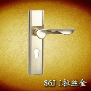HDW拉丝金室内门锁 卧室房门锁 欧