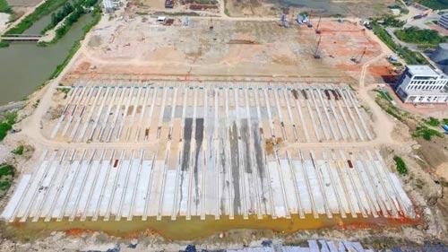 亚洲最大的滑道工程主体完工