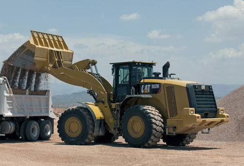 "Cat®(卡特)982M中型轮式装载机以""效"""