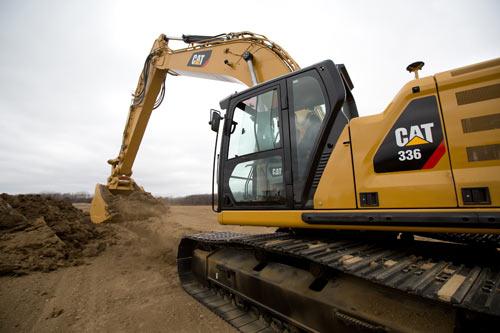 新一代 Cat®液压挖掘机推出36吨级全新机